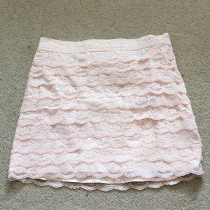 Petite lacy skirt